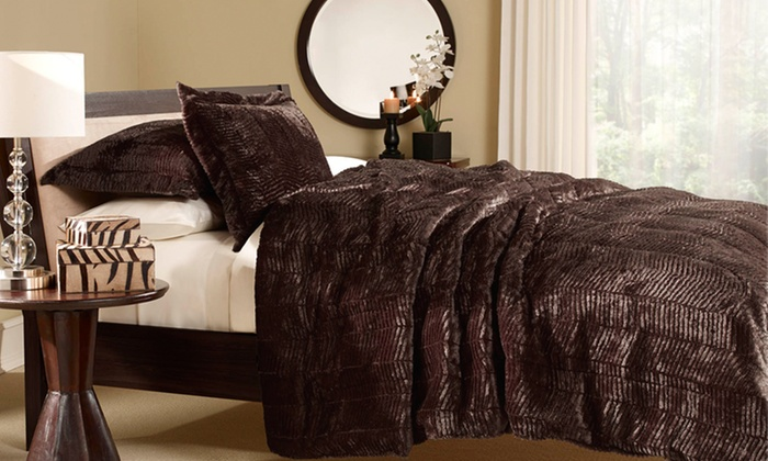 Essential Home Living Faux-Tiger-Fur Comforter Set: Essential Home Living Faux-Tiger-Fur Comforter Set. Multiple Sizes Available from $39.99–$59.99. Free Returns.