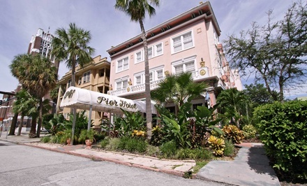 Stay at The Pier Hotel in St. Petersburg, FL. Dates into March Available.