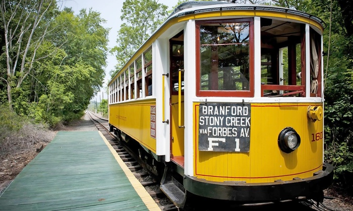 The Shore Line Trolley Museum - East Shore: Admission for Two or Four to the Haunted Isle at The Shore Line Trolley Museum (Up to 50% Off)