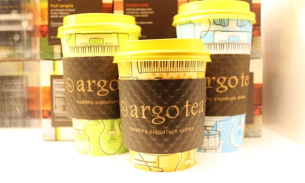 Specialty Drinks and Artisan Foods at Argo Tea Café (Up to 40% Off). Two Options Available.