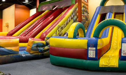 $25 for Five All-Day Bounce Passes at Jump N Play Noblesville ($50 Value)