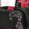 8-Piece Embroidered Oversized and Overfilled Comforter Set