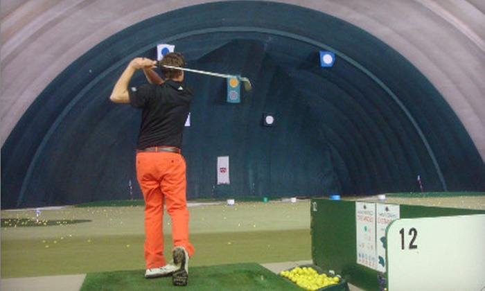 The Golf Dome - Chagrin Falls: One Hour of Unlimited Driving-Range Balls, One Hour of Virtual Golf, or Both at The Golf Dome (Up to Half Off)