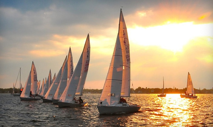 J World Annapolis - Annapolis: Three-Hour Sailing Lesson for One, Two, or Four from J World Annapolis (Up to 65% Off)