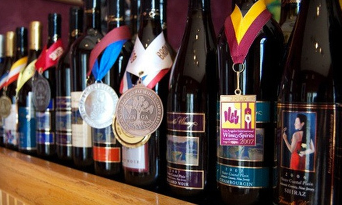 Tomasello Winery - Hammonton: Wine Tasting and Seminar for Two or Four at Tomasello Winery in Hammonton (Up to 55% Off)