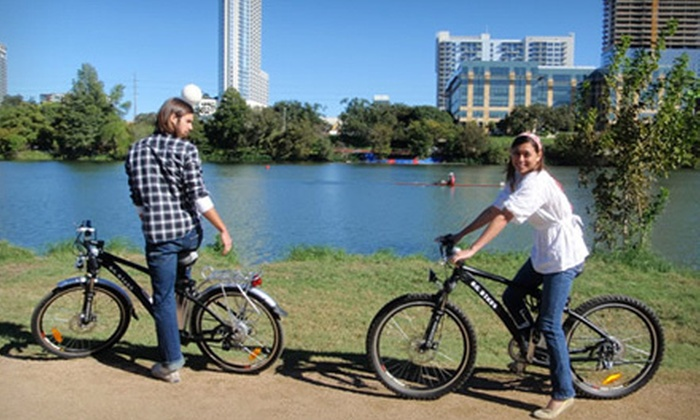 Barton Springs Bike Rental - Zilker: All-Day Bike Rental for One, Two, or Four from Barton Springs Bike Rental (Up to 71% Off)