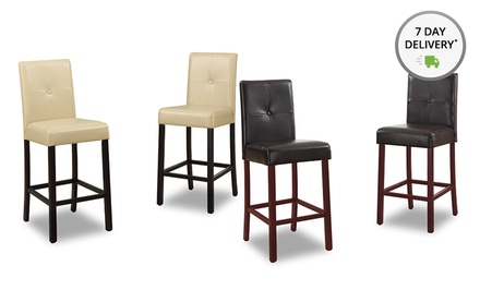 Baxton Studio Curtis Counter Stool Set. Free Returns.