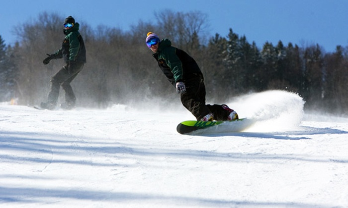 Holiday Mountain Resort - LaRiviere: C$179 for a Season Ski or Snowboarding Pass at                         Holiday Mountain Resort (C$378 Value)
