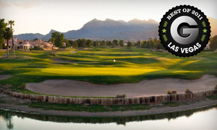 Palm Valley Golf Course - Sun City Summerlin: $34 for an 18-Hole Golf Outing with Cart Rental and Driving-Range Balls at Palm Valley Golf Course (Up to $99 Value)