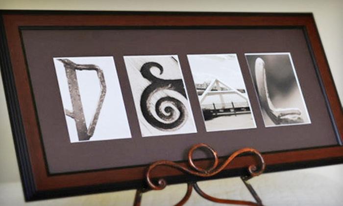 Sticks and Stones Custom Alphabet Art: $49 for Sticks and Stones Custom Alphabet Photography Art ($139.99 Value)