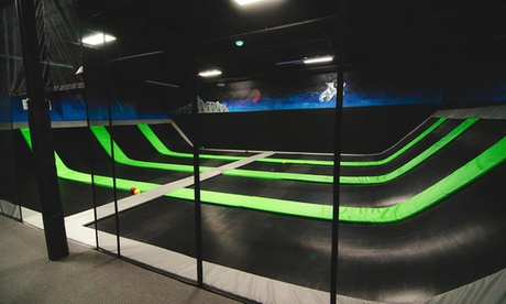 Jump Passes or Party for Up to 11 at Elevate Trampoline Park Quad Cities (Up to 45% Off). 4 Options...