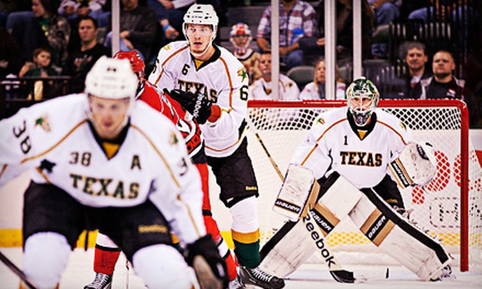 Texas Stars - Cedar Park Center: Texas Stars Hockey Game for One, Two, or Four at Cedar Park Center on November 21 or 23 (Up to 52% Off)