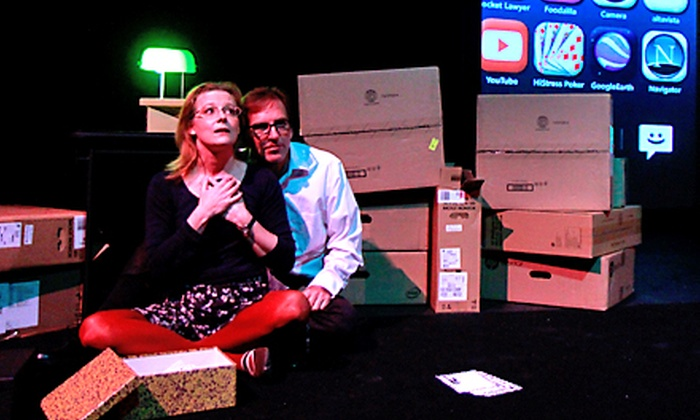 """Dead Man's Cell Phone"" - Swan Auditorium at Buffalo Laboratory Theatre: ""Dead Man's Cell Phone"" at Buffalo Laboratory Theatre at Swan Auditorium (Up to 53% Off)"