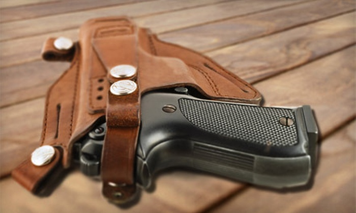 Spartan Firearms Safety - Spartan Firearm Acadamy: Concealed-Weapon-License Course for One or Two at Spartan Firearms Safety (Up to 55% Off)