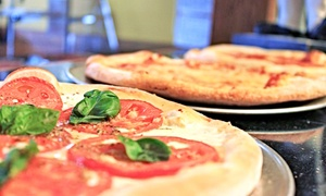 SoNo Pizza: Pizzeria Cuisine at SoNo Pizza (Up to 46% Off). Three Options Available.