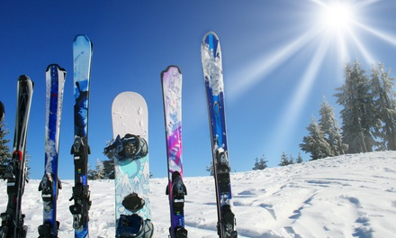 Ski/Snowboard Rental for One on Weekdays or Two on Weekdays or Weekends from White Wolf Lodge (Up to 58% Off)