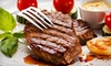 Opa Opa Steakhouse and Brewery - Rock Valley: $20 for $40 Worth of Steak and Seafood Food at Opa Opa Steakhouse and Brewery