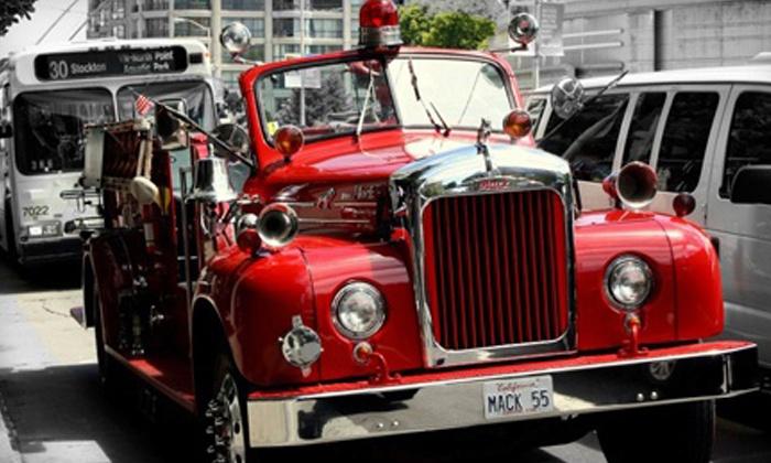 San Francisco Fire Engine Tours & Adventures - San Francisco Fire Engine Tours & Adventures: $37 for a Holiday Lights Tour from San Francisco Fire Engine Tours & Adventures ($75 Value)