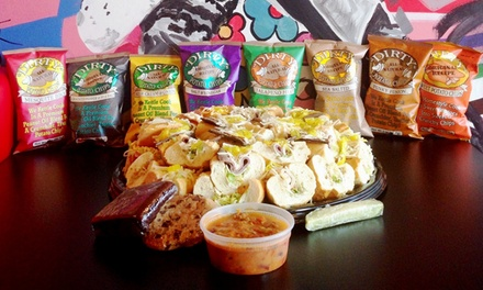 $51.50 for a Sub Party Tray for 8–12 from Dave's Cosmic Subs ($93.60 Value)
