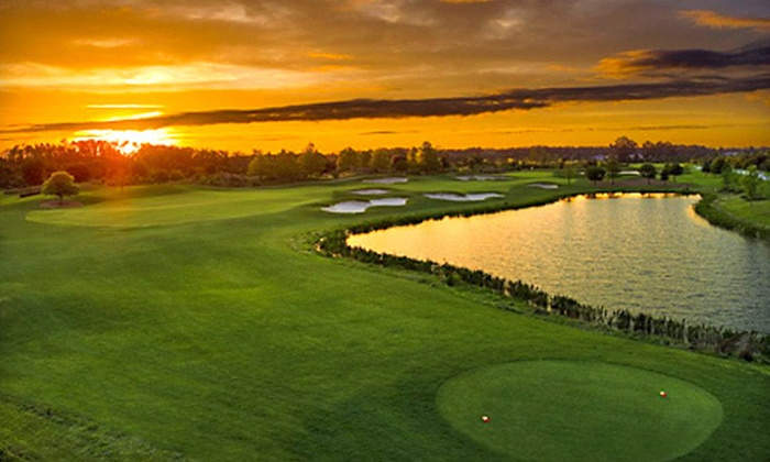 Harmony Golf Preserve - Harmony: Day of Golf for One or Two with Unlimited Rounds, Five-Minute Lesson, and Lunch at Harmony Golf Preserve (Up to 74% Off)