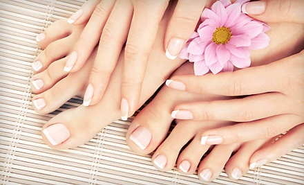 $39 for a Shellac Manicure and Essential Pedicure at Studio Fit Day Spa ($80 Value)