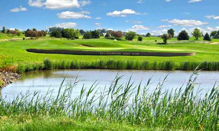 Bolingbrook Golf Club - Bolingbrook: Round of Golf for Two or Four, Plus Lunch or Dinner at Nest Bar & Grill at Bolingbrook Golf Club (Up to 50% Off)