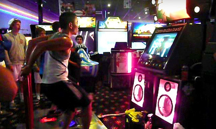 Scandia Family Fun Center - Rohnert Park: $17 for One Hour of Unlimited Arcade Play for Two at Scandia Family Fun Center in Rohnert Park (Up to $35.50 Value)