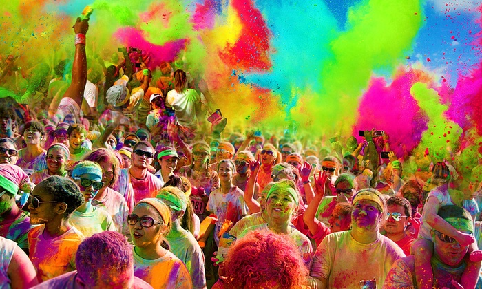 The Colorful 5K - Indiana State Fairgrounds: $25 for 5K Registration for One at The Colorful 5K on Sunday, April 19 (Up to $50 Value)