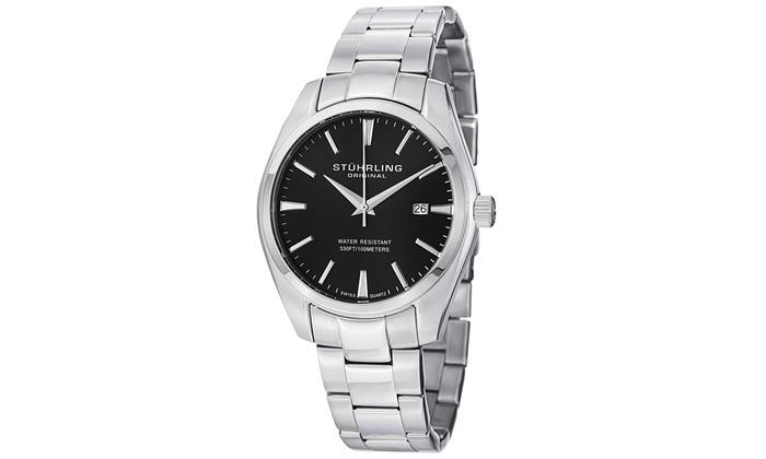 Stuhrling Men's Swiss Classic Bracelet Watch