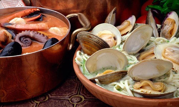 Saltimbocca Italian Bistro - Delray Beach: Italian Dinner Fare for Two or Four at Saltimbocca Italian Bistro in Delray Beach (Up to 53% Off)