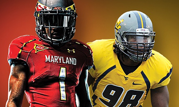 University of Maryland Terrapins vs. West Virginia Mountaineers Football - M&T Bank Stadium: $38 for One Ticket to Maryland against West Virginia Football Game at M&T Bank Stadium on September 21 ($75.10 Value)