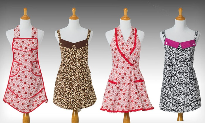 American Hostess Aprons: $13 for an American Hostess Apron ($34.95 List Price). Nine Styles Available. Free Returns.