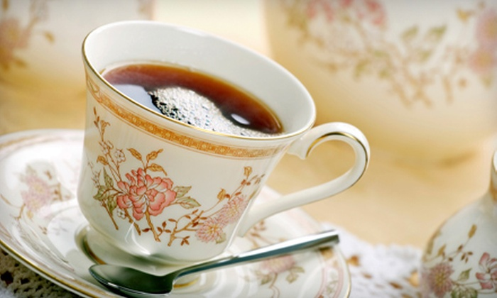 Silver Tips Tea - Tarrytown: Café Food and Tea at Silver Tips Tea Room (Up to 53% Off). Three Options Available.