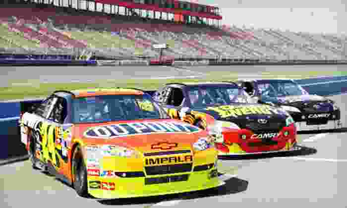 Rusty Wallace Racing Experience - Charlotte Motor Speedway: Racing Experience or Ride-Along from Rusty Wallace Racing Experience (Half Off). Six Dates Available.