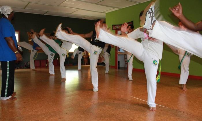 West Michigan Capoeira - Ann Arbor: Four Weeks of Unlimited Capoeira Classes at West Michigan Capoeira (44% Off)