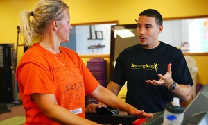 B Young - B Fit: Personal Training or Fitness Classes Packages at B Young B Fit (Up to 75% Off). Three Options Available.