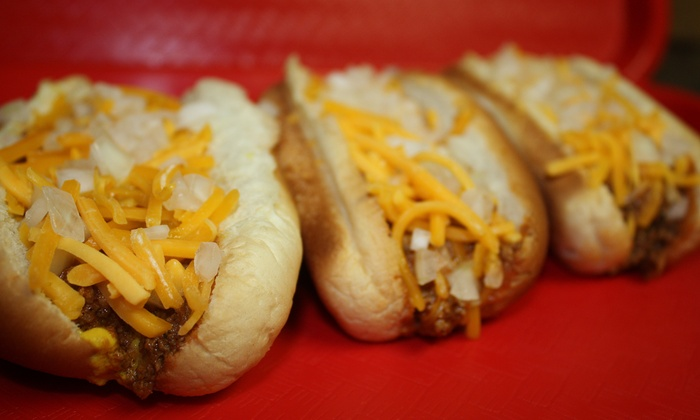 Jake's Coney Island - Edmond: $8 for $16 Worth of Coney Dogs and Chili at Jake's Coney Island