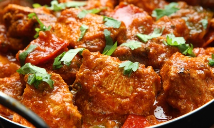 Indian Dinner for Two at Hema's Kitchen (Up to 54% Off). Two Locations Available.
