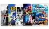 5-Game Action Pack for Wii: 5-Game Action Pack for Wii