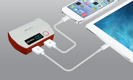MiiKey MiiPower-2 5,200mAh USB Universal External Power Bank