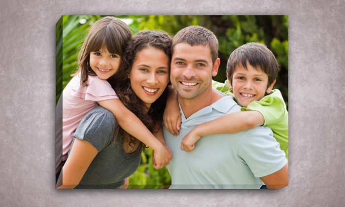 Custom Gallery-Wrapped Photo Canvas: Custom Photo Canvas from PrinterPix. Multiple Sizes Available from $25.99–$69.99. Free Shipping.