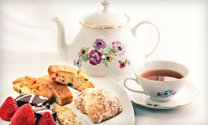 With Flair Tea Room - Great Bridge: $19 for a Tea Lunch for Two with Entrees, Tea, and Desserts at With Flair Tea Room ($37.94 Value)