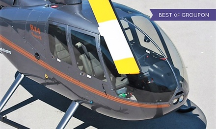 Vuelo en helicóptero para 1, 2 o 3 personas por el litoral de Barcelona desde 69 € en Audax Helicopters
