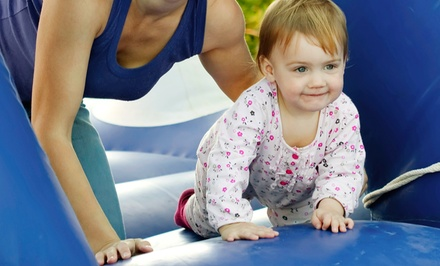 Four or Eight Drop-In Play Sessions at The Fun Dome (Up to 55% Off)