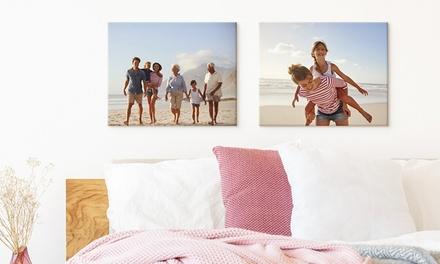 1, 2 o 4 foto-lienzos personalizables, gastos de envío no incluidos, con Photo gift (hasta 90% de descuento)