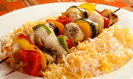 $15 for $30 Worth of Lebanese Cuisine at Mazaar