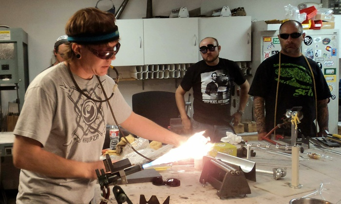 Glasscraft - Golden: Four-Hour Glassblowing Class for One or Two at Glasscraft (Up to 53% Off)