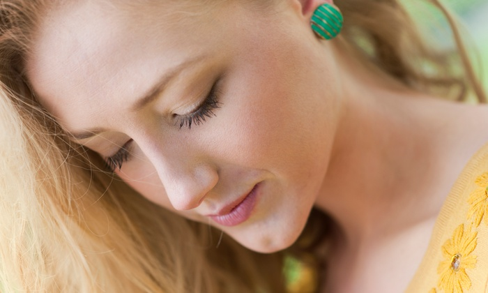 Rachel Scotti at Krush Salon - Los Gatos: $129 for Eyelash Extensions with Touch-Up and Two Brow Waxes from Rachel Scotti at Krush Salon ($256 Value)