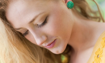$129 for Eyelash Extensions with Touch-Up and Two Brow Waxes from Rachel Scotti at Krush Salon ($256 Value)