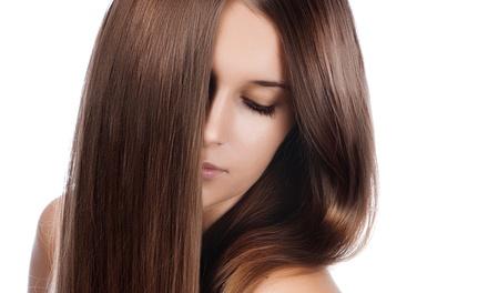 Haircut packages john 39 s lemon tree salon groupon - Hair straightening salon treatments ...